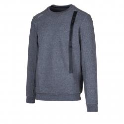 Pánska tréningová mikina ANTA-Sweat Shirt-q418-MEN-Grey dark