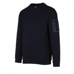 Pánska tréningová mikina ANTA-Sweat Shirt-q418-MEN-Black