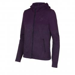 Dámska tréningová flisová mikina s kapucňou ANTA-Knit Track Top-q418-WOMEN-Purple1