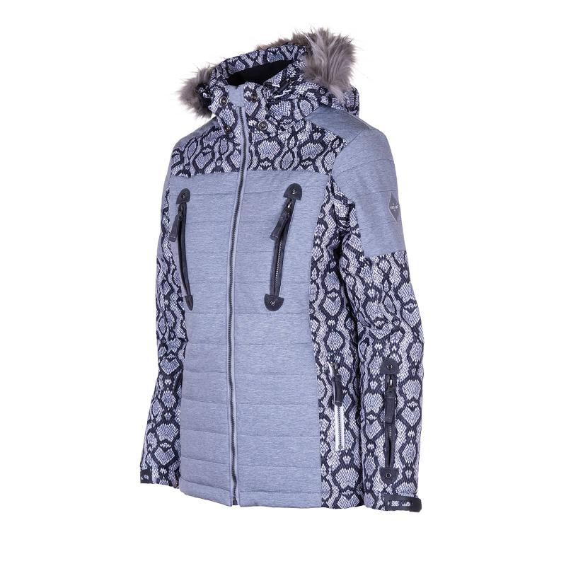 Dámska lyžiarska bunda AUTHORITY-SZNOWA grey -