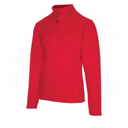 Pánska lyžiarska flisová mikina AUTHORITY-FEXINO red