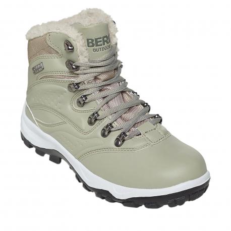 Dámska zimná obuv stredná BERG OUTDOOR-LARA Beige
