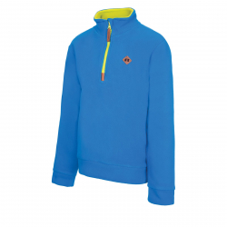 Chlapčenská lyžiarska flisová mikina AUTHORITY-FEXINO B blue