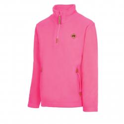 Dievčenská lyžiarska flisová mikina AUTHORITY-FEXINA G pink
