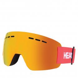 Lyžiarske okuliare HEAD-Solar FMR red