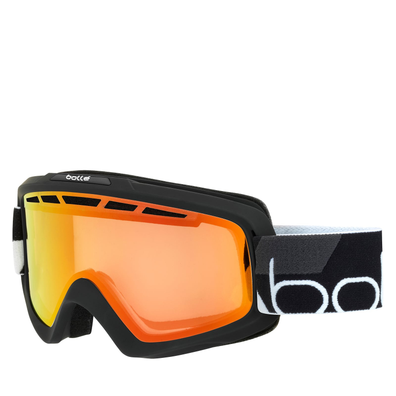 Lyžiarske okuliare BOLLE NOVA II - MATTE BLACK   PHOTOCHROMIC FIRE R ... 9a563789af5