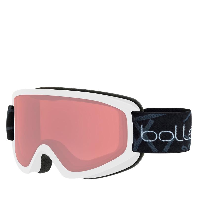 596713859 Lyžiarske okuliare BOLLE FREEZE - MATTE WHITE / VERMILLON | EXIsport ...