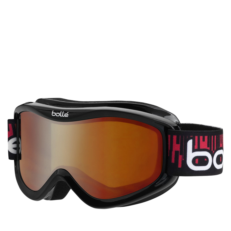 Juniorské lyžiarske okuliare BOLLE VOLT - BLACK EQUALIZER   CITRUS DARK - aa3ba506f0e