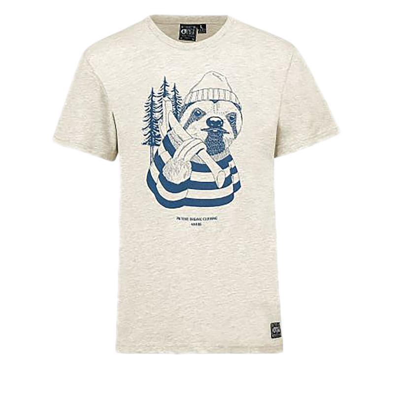 69e0705d5bf6 Pánske tričko s dlhým rukávom PICTURE-Sloth S SMTS531-BEIGE ...