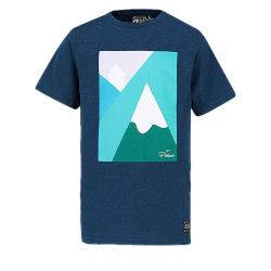 3d194a44ce9f Pánske tričko s krátkym rukávom PICTURE-Angon S S MTS504-DARK BLUE