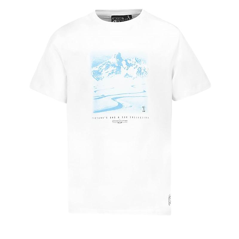 Pánske tričko s dlhým rukávom PICTURE-Trail S S MTS528-WHITE ... 0414630734