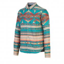 Pánska košeľa s dlhým rukávom PICTURE-Halchita MTS480-PRINT