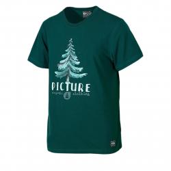 8889fef68227 Pánske tričko s krátkym rukávom PICTURE-Shade S S MTS500-EMERALD