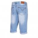 Pánske riflové kraťasy AUTHORITY-TADENI lt blue -