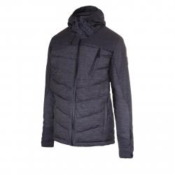 Pánska lyžiarska bunda BLIZZARD-Mens Jacket Gerlos, black melange/grey melange/black