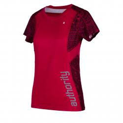 Dámske tréningové tričko s krátkym rukáv AUTHORITY-PROFII RUN W dark pink