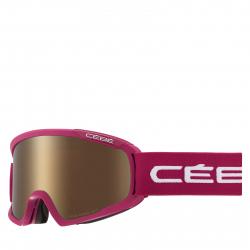 Lyžiarske okuliare CÉBÉ FANATIC M - Mat Cranberry White / Dark Rose Flash G
