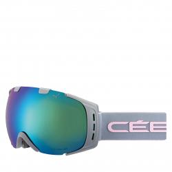 Lyžiarske okuliare CÉBÉ ORIGINS M - Mat Cool Grey Pink / BROWN FLASH BLUE