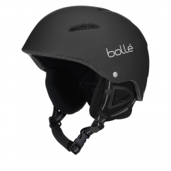 Lyžiarska prilba BOLLE B-STYLE - MATTE BLACK MOUNTAIN SPIRIT