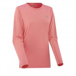 Dámske tréningové tričko s dlhým rukávom KARI TRAA Nora Ls-Rosy