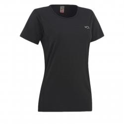 Dámske tréningové tričko s krátkym rukáv KARI TRAA Nora Tee-Black