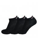 Ponožky FILA-F9300 SOCKS 3-PACK 200-Black -
