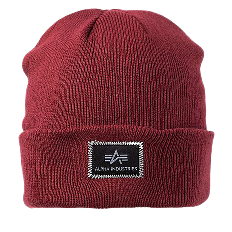 b1bfb224e Zimná čiapka ALPHA-X-Fit Beanie red | EXIsport Eshop