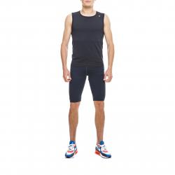 Pánske tréningové tričko bez rukávov THERMOWAVE-Tanktop Black-Thermocool