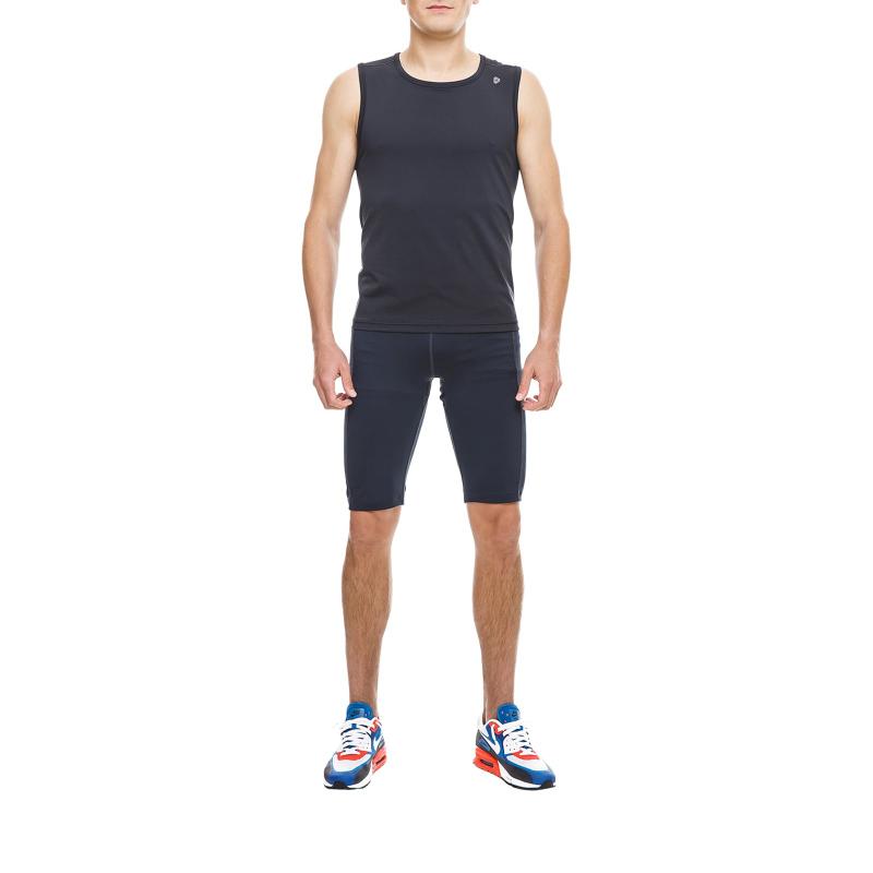 fdfa6758f9c0 Pánske tréningové tričko bez rukávov THERMOWAVE-Tanktop Black-Thermocool -