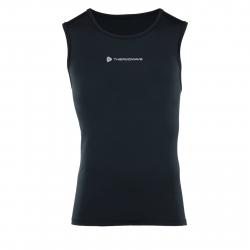 Pánske tréningové tričko bez rukávov THERMOWAVE-Tanktop Black