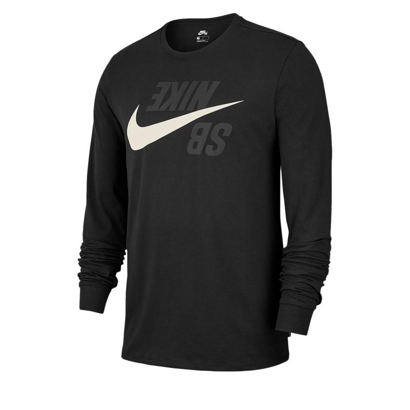 2abf82a0973e Pánske tričko s dlhým rukávom NIKE-Nike SB TEE LS BACKWARDS ...