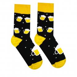 Módne ponožky HESTYSOCKS Pivko