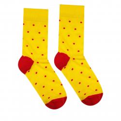 Módne ponožky HESTYSOCKS Žltý Gentleman