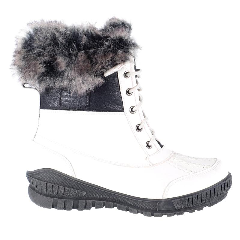Dámska zimná obuv vysoká WESTPORT-Lydia white  4794aff48d9