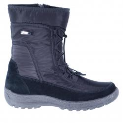 Dámska zimná obuv vysoká SOFT DREAMS-Carina black