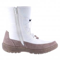 Dámska zimná obuv vysoká SOFT DREAMS-Carina white