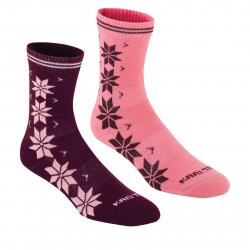 Dámske ponožky KARI TRAA Vinst Wool Sock 2pk-Jam