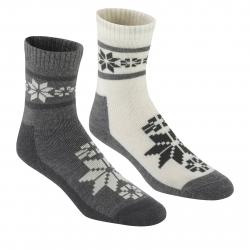 Dámske ponožky KARI TRAA Rusa Wool Sock 2pk-Dus