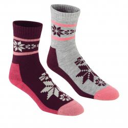Dámske ponožky KARI TRAA Rusa Wool Sock 2pk-Jam