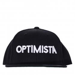 Šiltovka OPTIMISTA-Snapback čierna optimista nápis