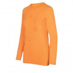 Dámske tričko s dlhým rukávom AUTHORITY-TAREKONA II yellow