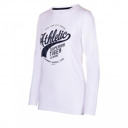 Dámske tričko s dlhým rukávom AUTHORITY-TAREKONA white