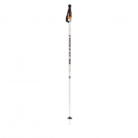Lyžiarske palice BLIZZARD-Allmountain ski poles, silver/neon orange,