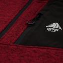 Pánska turistická flisová mikina s celým BERG OUTDOOR-ARINSAL RED -
