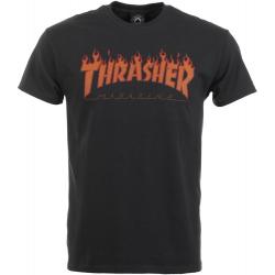 Pánske tričko s krátkym rukávom THRASHER-FLAME HALFTONE S/S