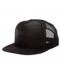 Šiltovka THRASHER-Mag Logo Printed Mesh Cap BLACK -