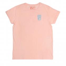 Tričko s krátkym rukávom OPTIMISTA-Tričko lososové nášivka