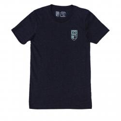 Tričko s krátkym rukávom OPTIMISTA-Tričko čierne nášivka