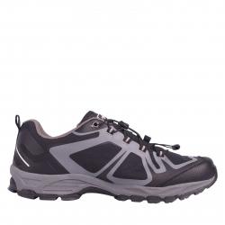 Pánska turistická obuv nízka ALPINE CROWN-Contral Grip black/grey