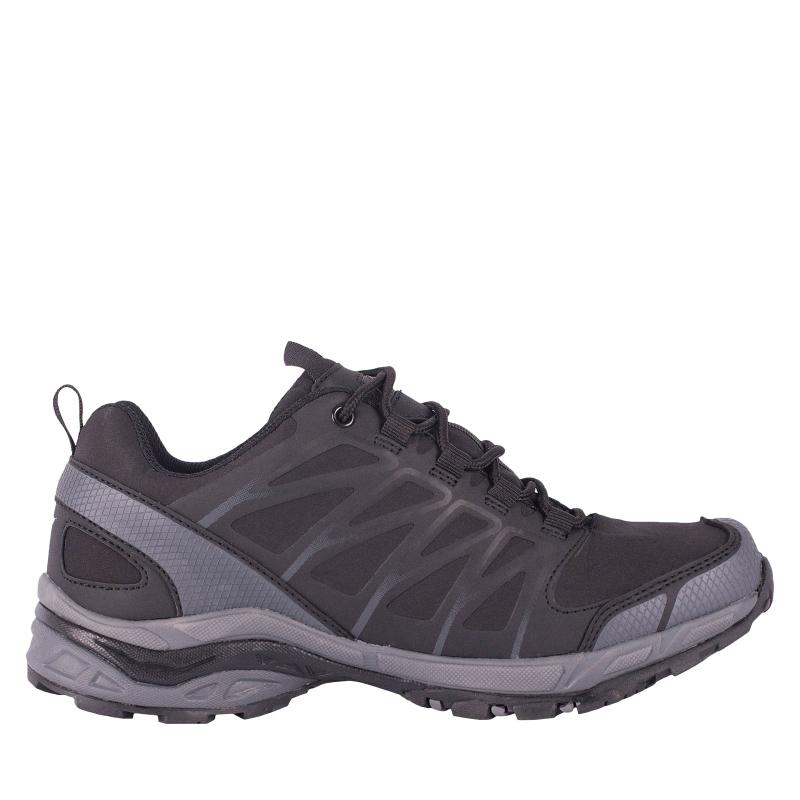 Pánska turistická obuv nízka ALPINE CROWN Salamander black/grey -
